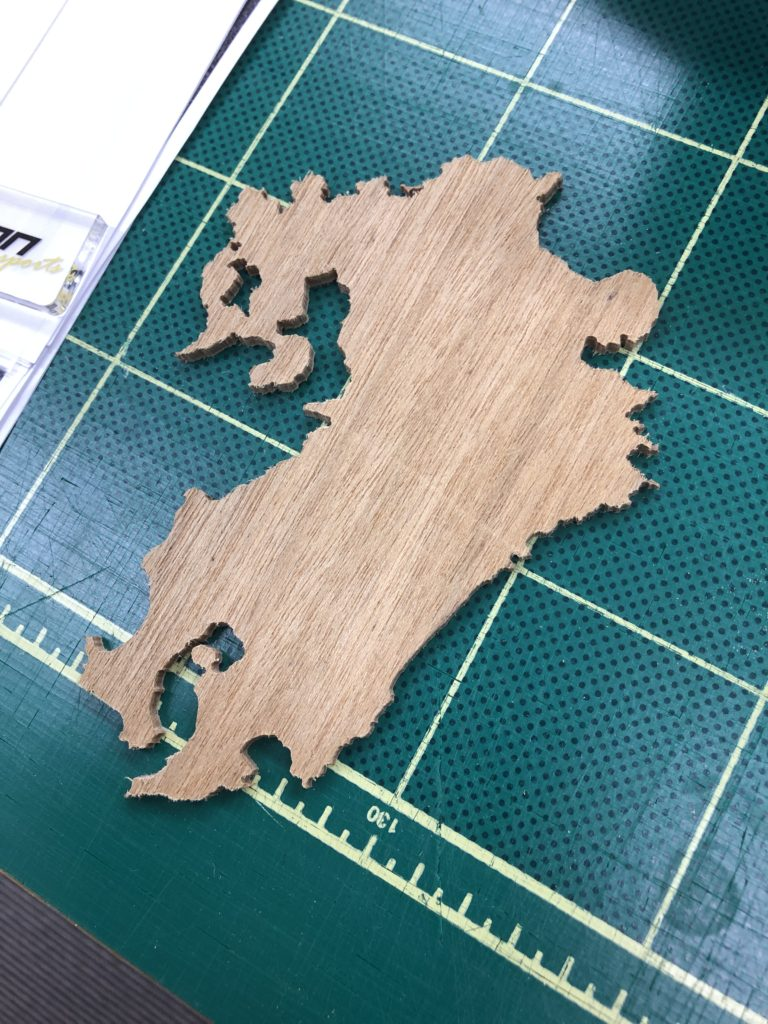 木材ルーター加工